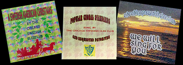Chicago Swedish Glee Club CDs